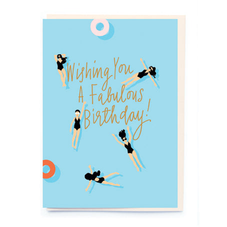 Wishing you a fabulous birthday card