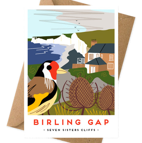 Birling gap card
