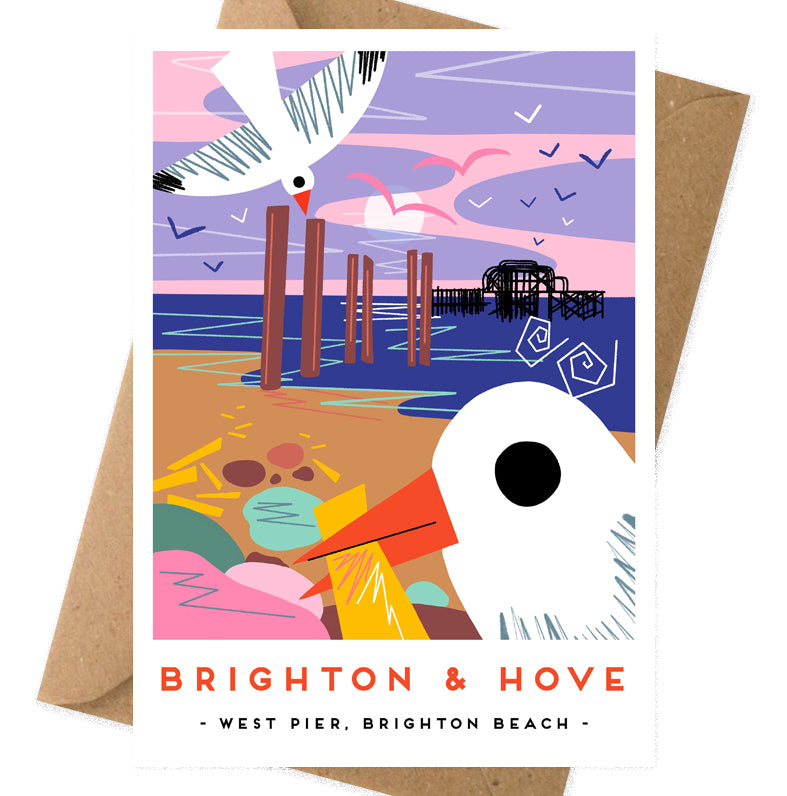 Brighton and Hove card