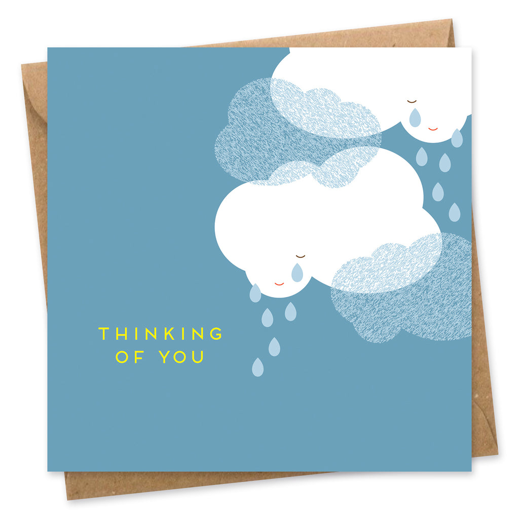 Thinking of you card Onneke sympathy card empathy card