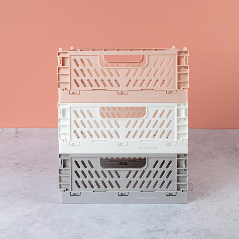 Folding crate variety of colours / sizes