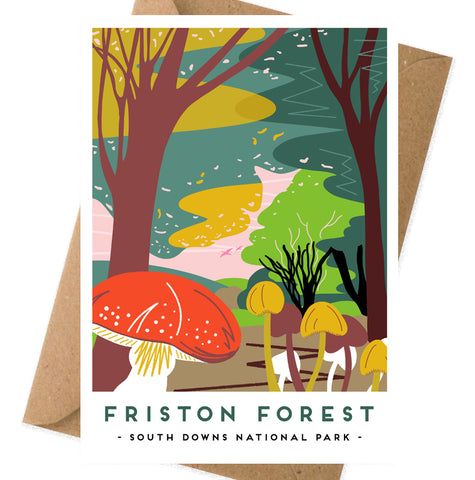 Friston forest card