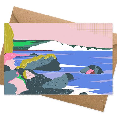 Dreamy landscape III - Hope Gap card