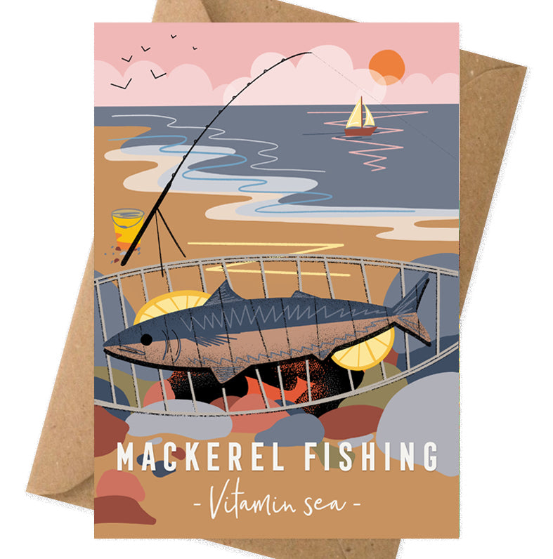 Mackerel fishing - Vitamin Sea card