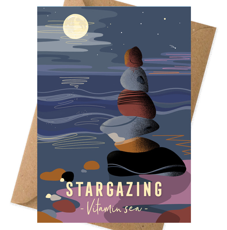Stargazing Vitamin Sea card