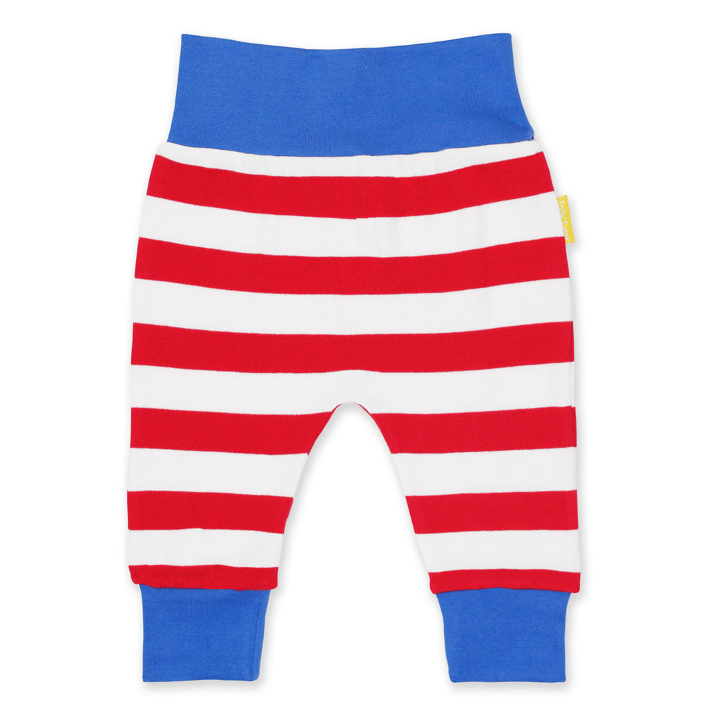 Baby yoga pants organic cotton Toby Tiger
