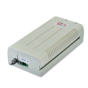 PD-5501G/12-24VDC Single Port 802.3at PoE Midspan 30W