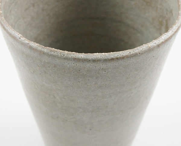 Beaker Vase - Soft Grey