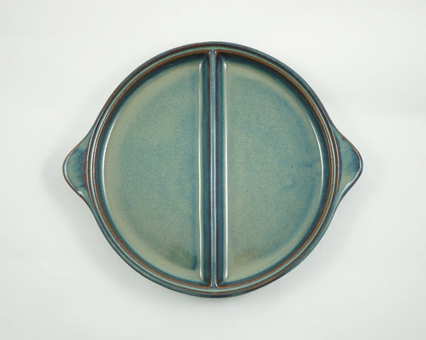 Divided Dish - Green Blue