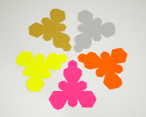 Paper Decorations - in 5 colours
