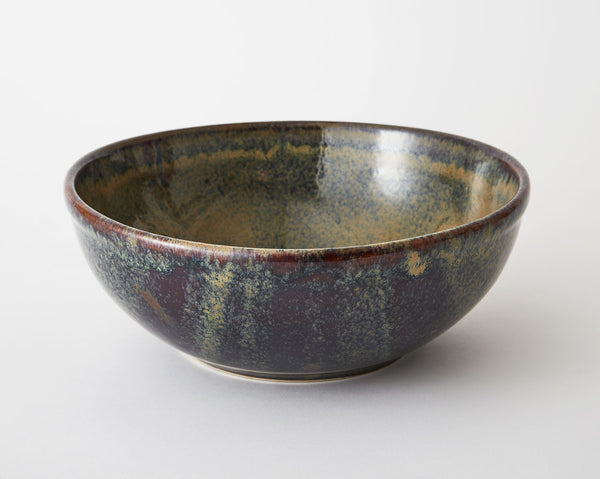 Large Salad Bowl - Indigo Dusk