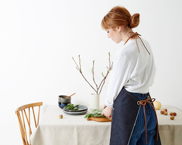 Denim Apron - Indigo