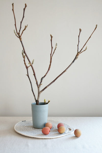 Beaker Vase - Soft Blue