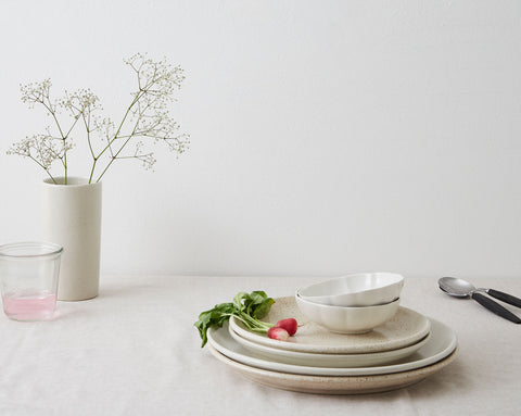 Vintage Small Dish - Off White