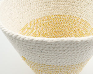 Cotton Cord Bowl - Mustard