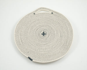 Cotton Cord Placemat - Grey