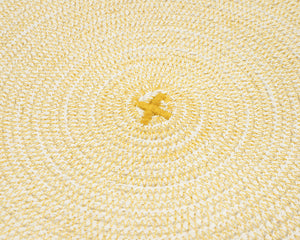 Cotton Cord Placemat - Mustard
