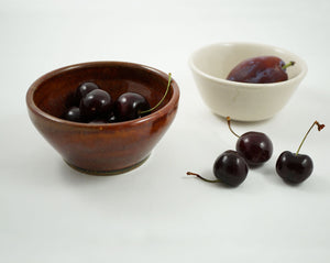Vintage Small Bowl - Mixed Brown