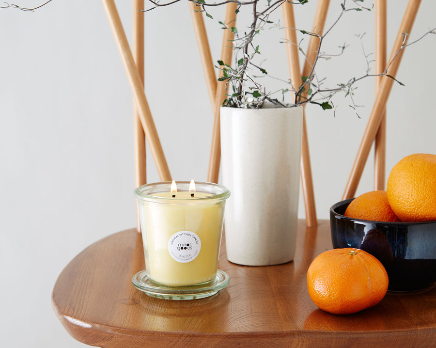 Natural Kitchen Candles - Winter