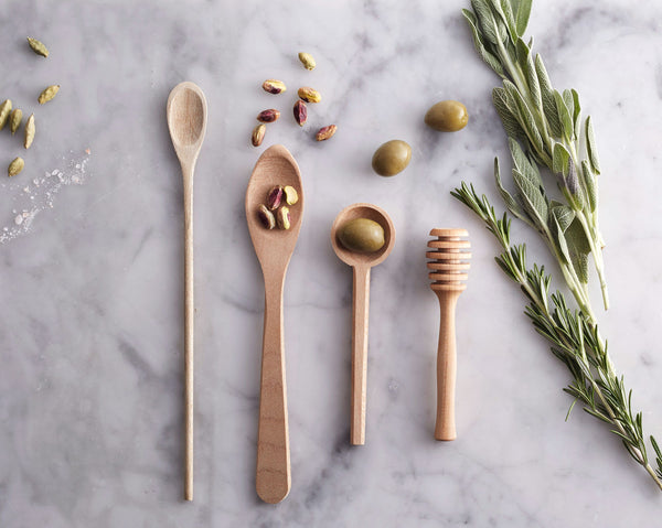 Plane Wood Olive Spoon
