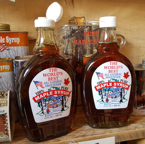 Maple Syrup Glass