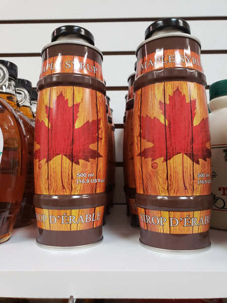 Pure Maple Syrup Barrel