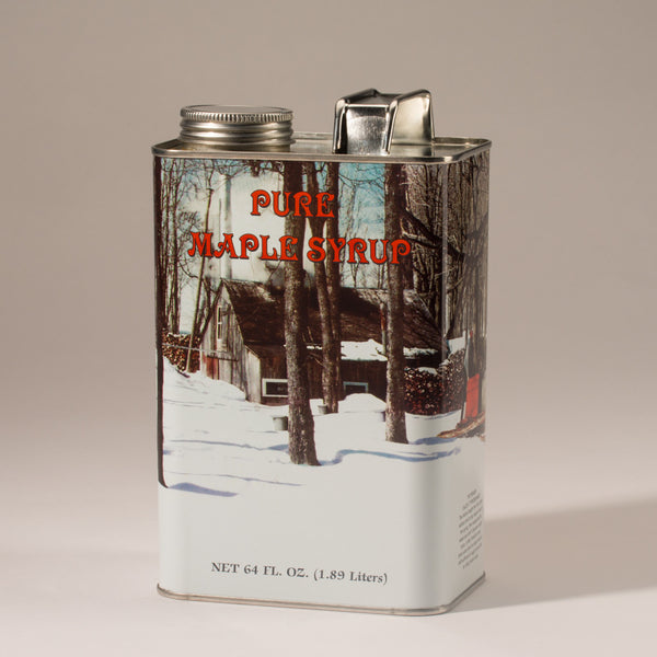 Pure Maple Syrup - 1/2 Gallon Tin
