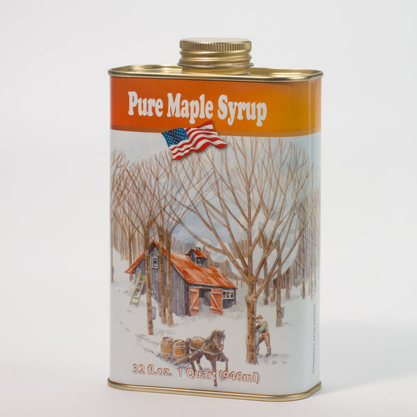 Pure Maple Syrup - Quart Tin