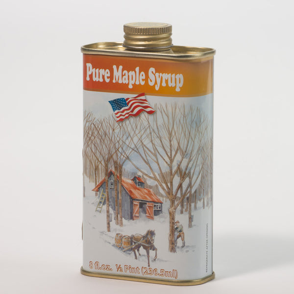 Pure Maple Syrup - 1/2 Pint Tin