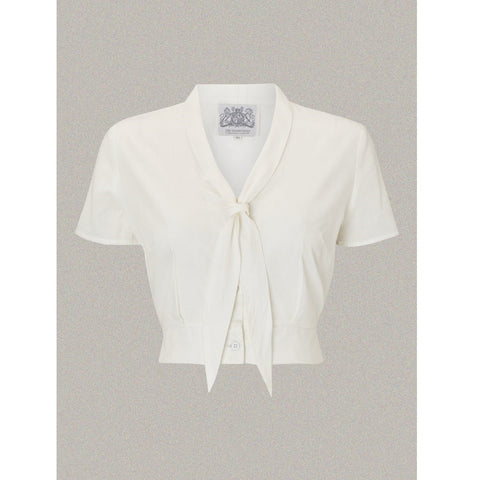 Seamstress of Bloomsbury - Bonnie Blouse (Cream)