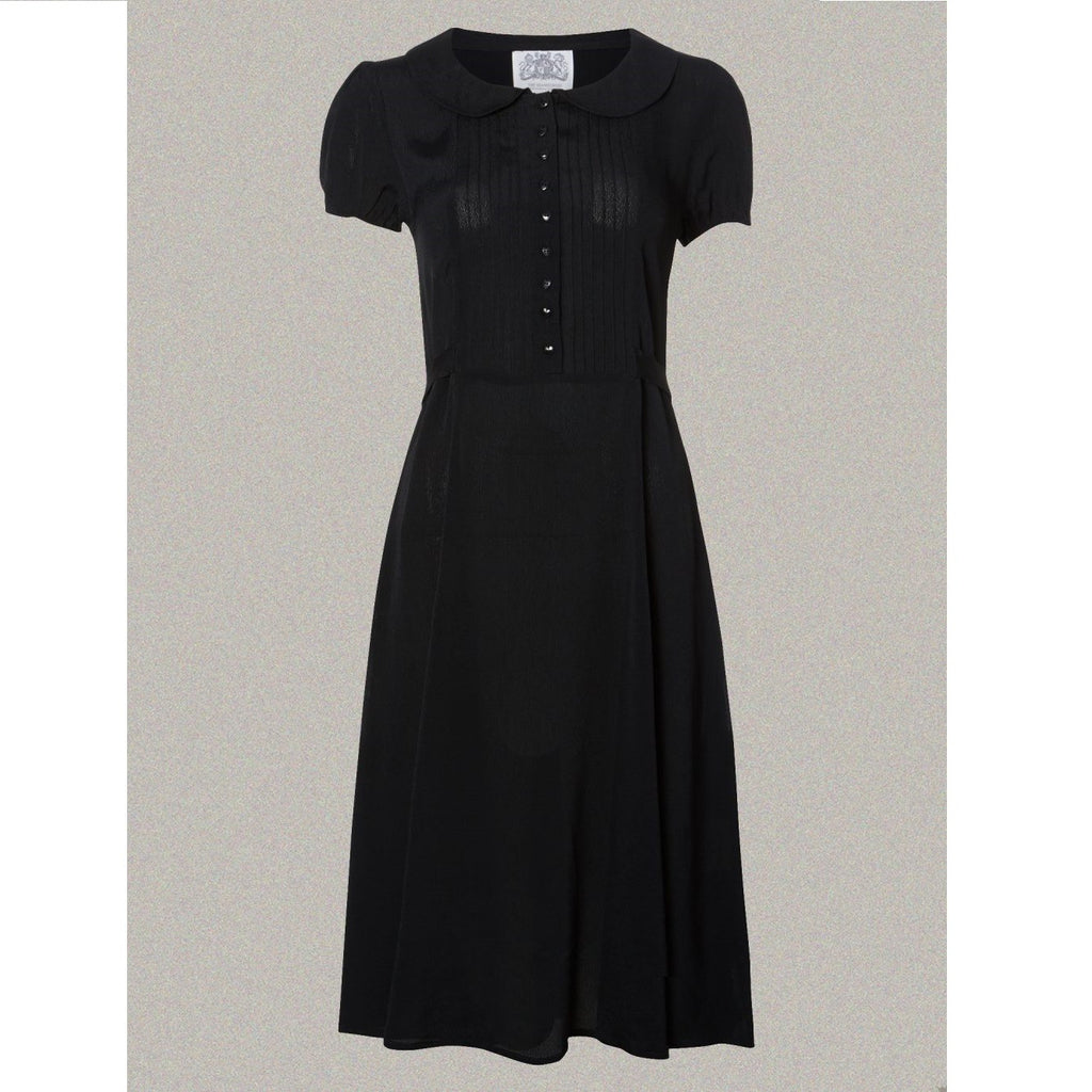 Seamstress of Bloomsbury - Dorothy Dress (Black)