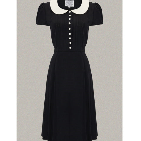 Seamstress of Bloomsbury - Dorothy Dress (Black/Ivory)