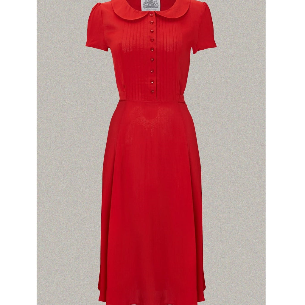 Seamstress of Bloomsbury - Dorothy Dress (Red)