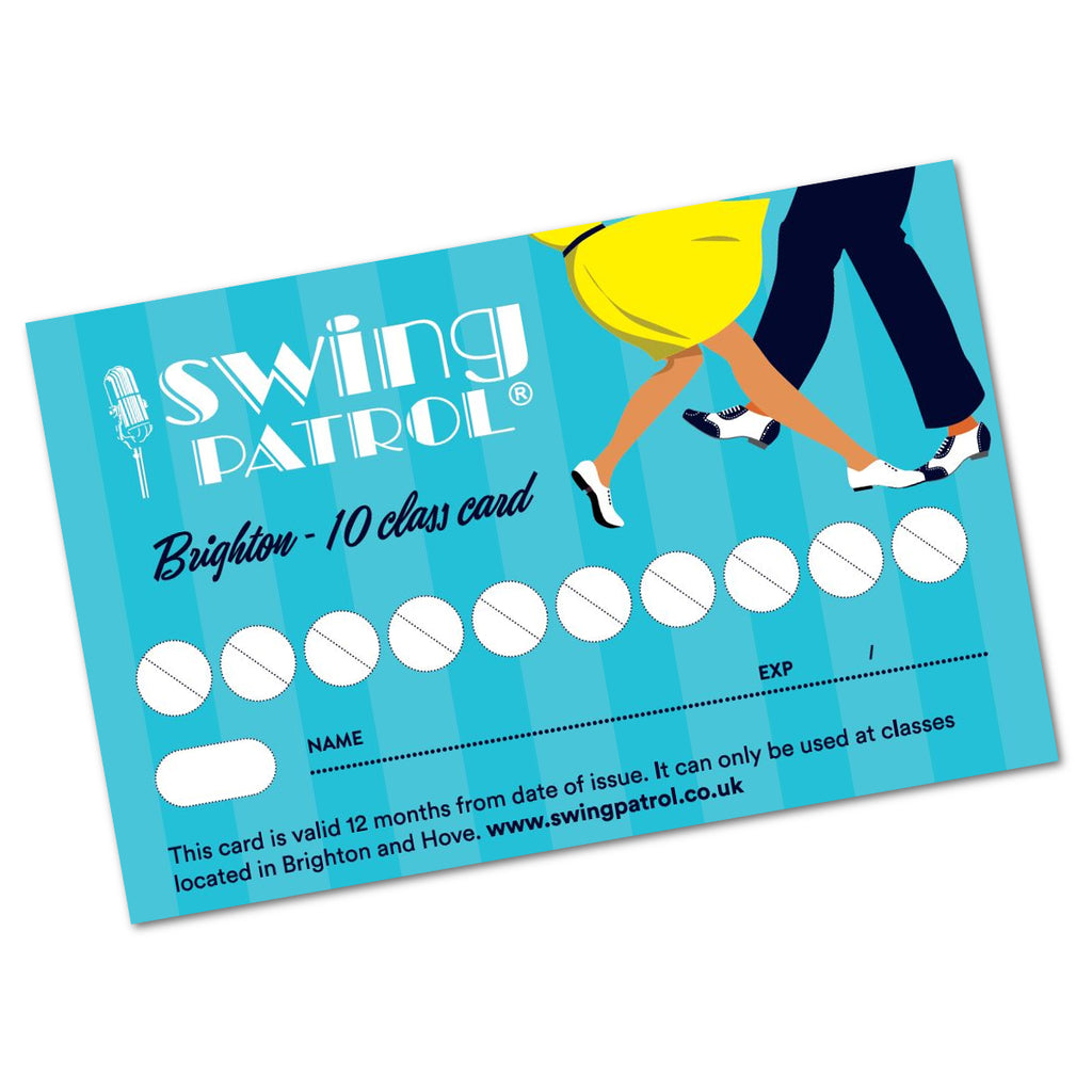 Swing Patrol Brighton - Class Card (to collect)