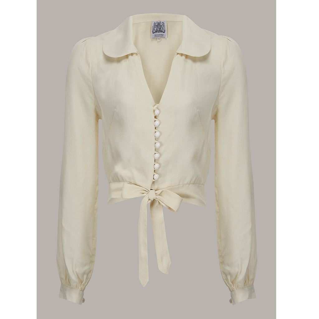 Seamstress of Bloomsbury - Clarice Blouse (Cream)