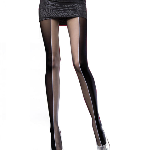 Patterned Tights - Faustina