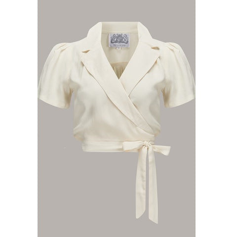 Seamstress of Bloomsbury - Greta Blouse (Cream)