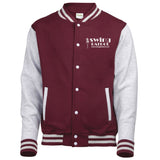 Swing Patrol Varsity Jacket - Burgundy & Grey