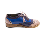 Tint London - Ladies Blue Brogues