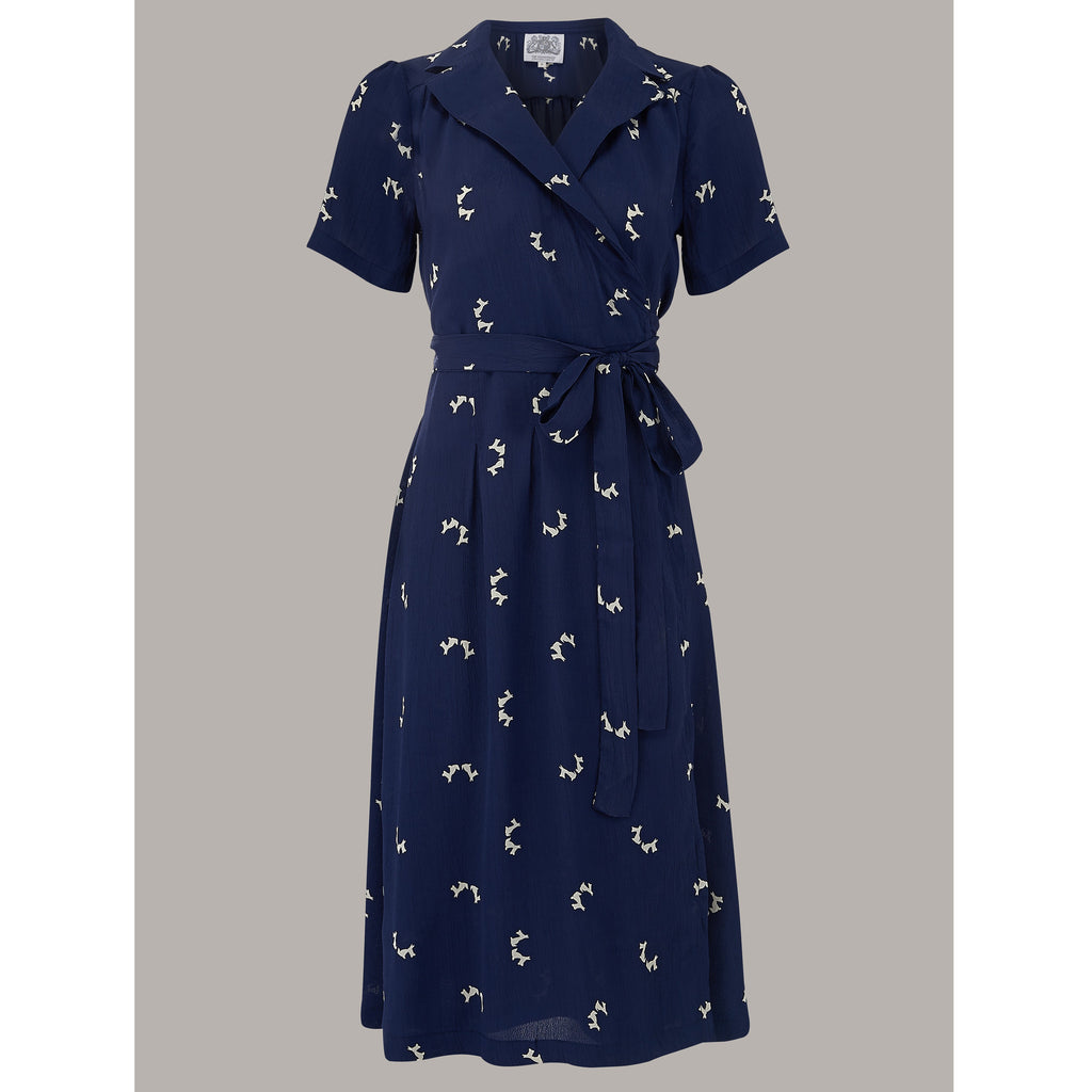 Seamstress of Bloomsbury - Peggy Dress (Doggy print)