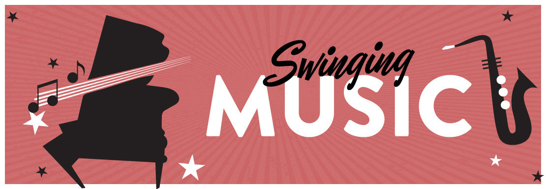 Swing Patrol Shop Music Banner