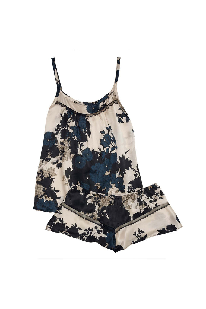luxury camisole cami top and shorts set