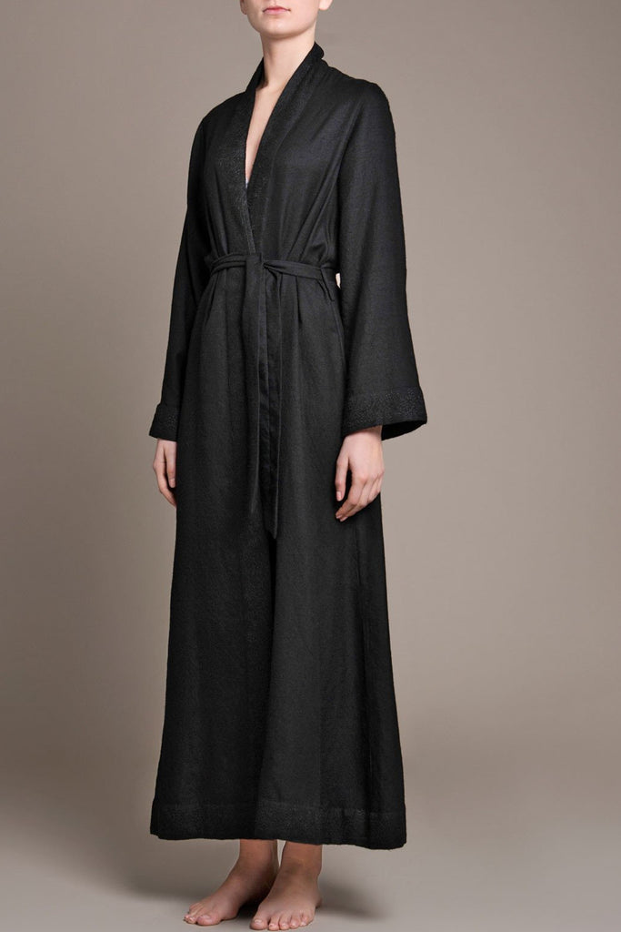 luxury long night wear pyjama robe gown