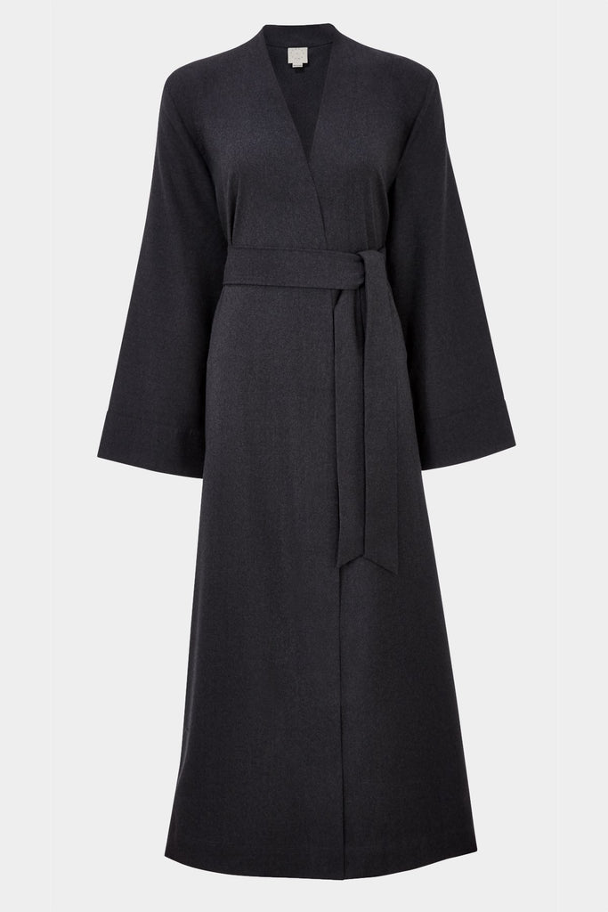 luxury long lounge robe gown
