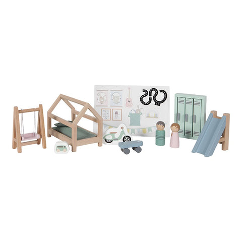 Little Dutch - DOLL'S HOUSE PLAYSET CHILDREN'S ROOM
