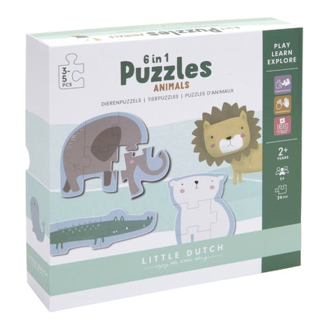 Little Dutch -  ANIMAL PUZZLE - ZOO
