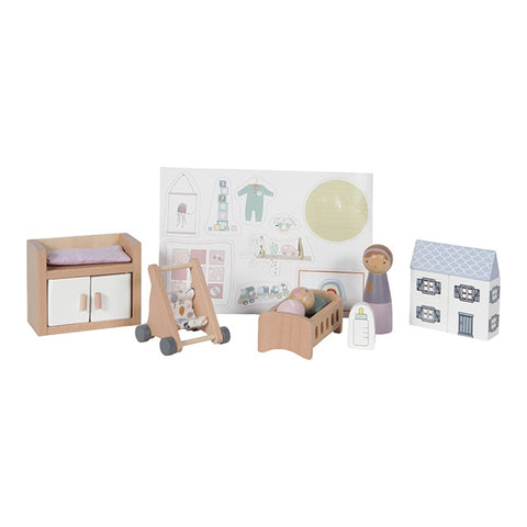 Little Dutch - DOLL'S HOUSE PLAYSET NURSERY