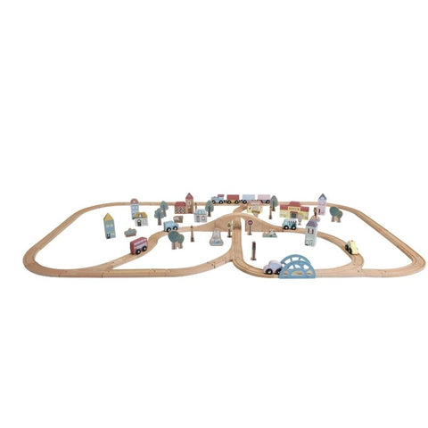 Little Dutch - Grande Kit pista trenino - Railway starter kit