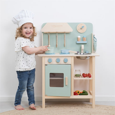 Little Dutch - Cucina di Legno Mint