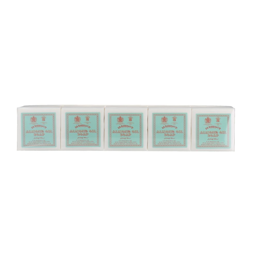 ALMOND OIL GUEST SOAP 5*40g PACK